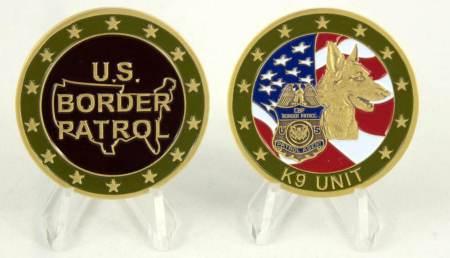 USBP K9 COIN - Coins