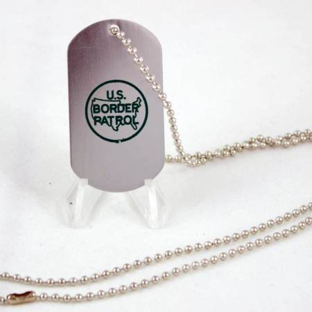 USBP DOG TAG/CHAIN - Misc Gifts
