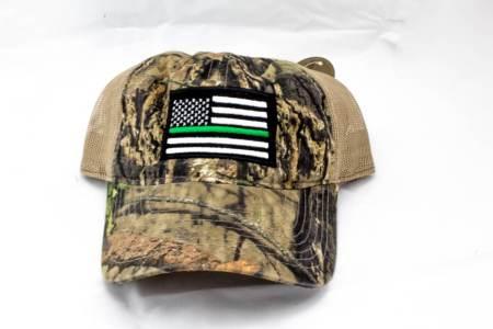 MOSSY OAK BREAK UP-GREEN LINE - Hats