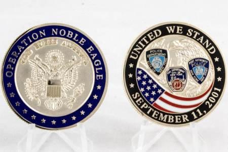 9-11(Operation Noble Eagle) - Coins