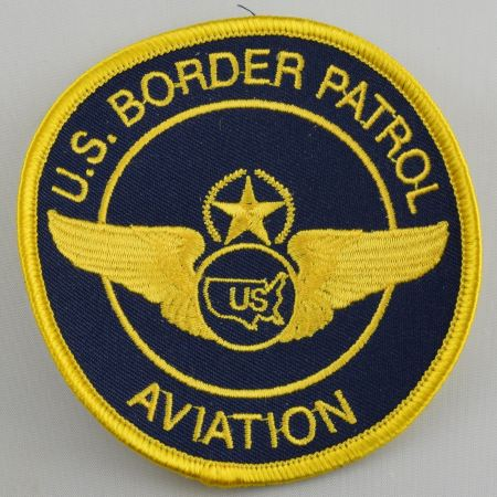 US Border Patrol Aviation Patch - Patches / Decals