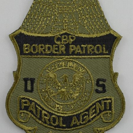 Subdued CBP Patch - Patches / Decals
