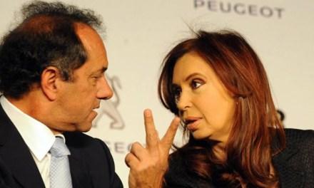 Scioli va a New York a mostrar su matrimonio por conveniencia