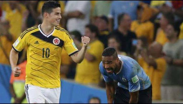 Colombia-Uruguay y la otra formar de jugar el #MUNDIAL
