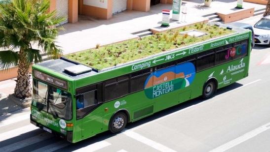 Jardines en los techos de los bondis. La solución para el Medio Ambiente de las ciudades