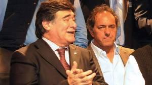 Zannini no dice que vota a Scioli.