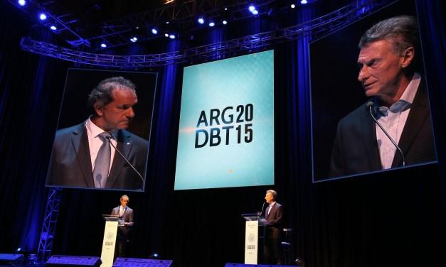 Radiografía de un debate: ¿a quién le hablaron los candidatos?