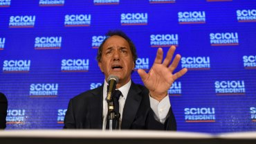 Scioli y su otra campaña: la del miedo