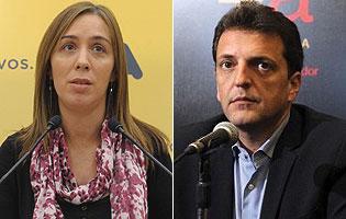 Vidal y el massismo buscan acuerdos de gobernabilidad en la Provincia