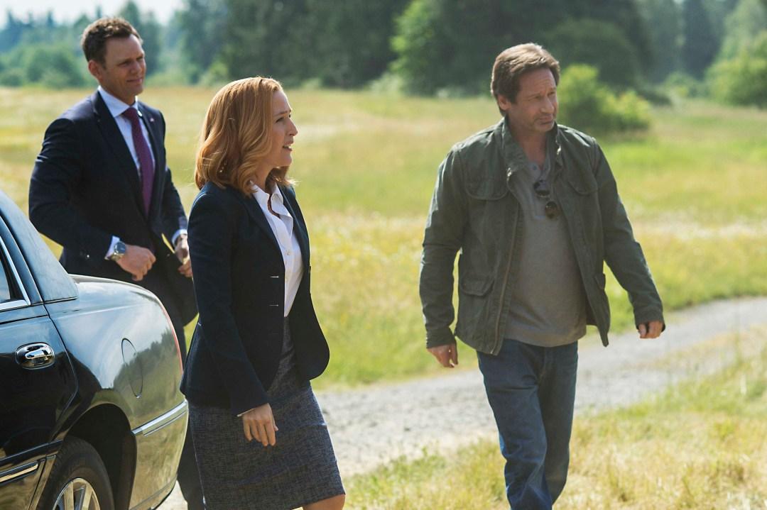 David Duchovny es Fox Mulder y Gillian Anderson es Dana Scully en The X ... (1)