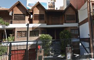 Su casa en Saavedra.