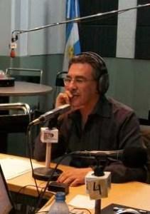 Carlos Polimeni. Reclama 4 millones de pesos.