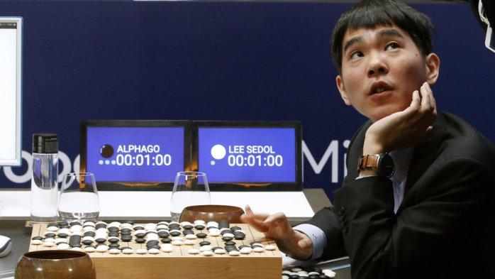 AlphaGo, de Google triunfa ante el campeón coreano.
