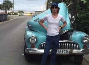 Jagger en Cuba.