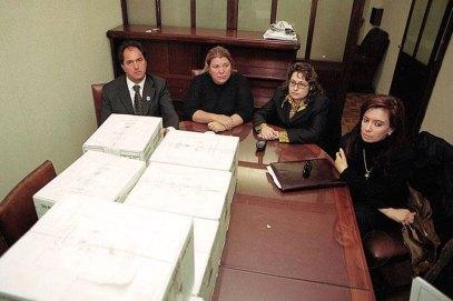 Otros tiempos: Scioli, Carrió, Ocaña y Cristina, en la comisión antilavado.