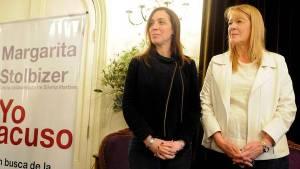 Margarita presentó su libro la semana pasada, junto a Vidal y Massa, entre otros.