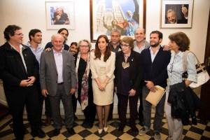 Parrilli hoy preside el Instituto Patria, refugio político de Cristina en Buenos Aires.