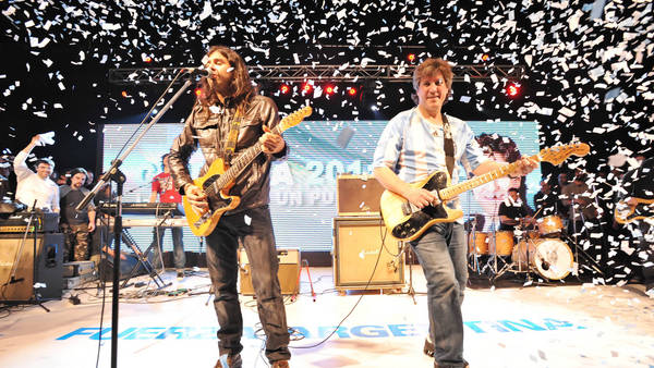 Exclusivo: Los millones que La Mancha de Rolando facturó en shows oficiales con Boudou de vice