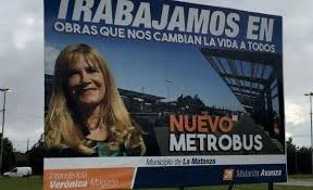 ¿Campaña electoral encubierta? Además de los patrulleros, Magario se adjudica el Metrobús.
