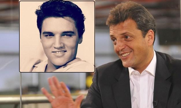Bizarro: Sergio Massa inspiró su campaña… ¿en Elvis Presley?
