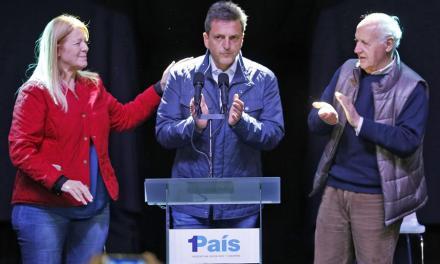 """Volantazo de Massa: peronizarse para morderle votos a lo que cree una """"debacle"""" de Cristina"""