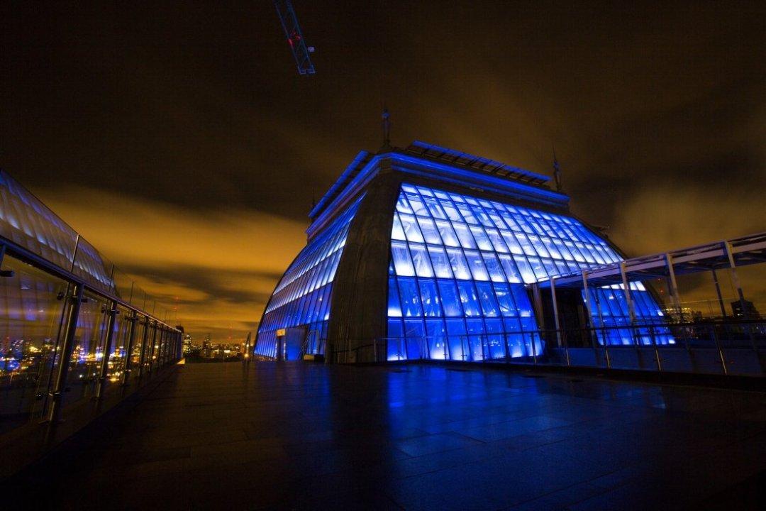 La cúpula del CCK, el nuevo spot de eventos oficiales.