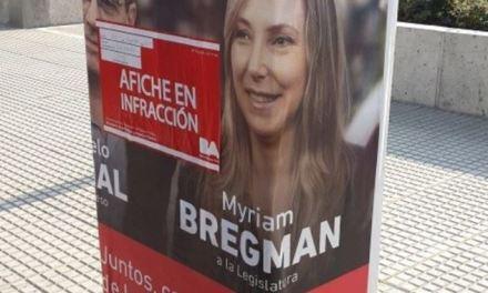 La izquierda y Lousteau lideran el ranking infractor por propaganda ilegal en las calles porteñas