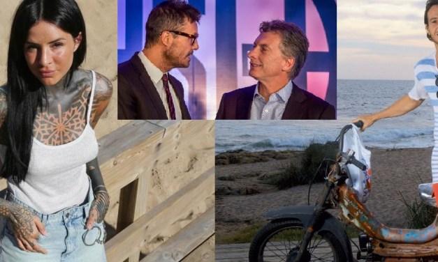 Los Tinelli y los Macri, enfrentados por el escandalete del verano esteño