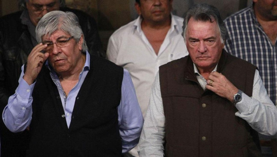 """Barrionuevo se bajó de la marcha de Moyano, por el apoyo del """"pasado""""."""