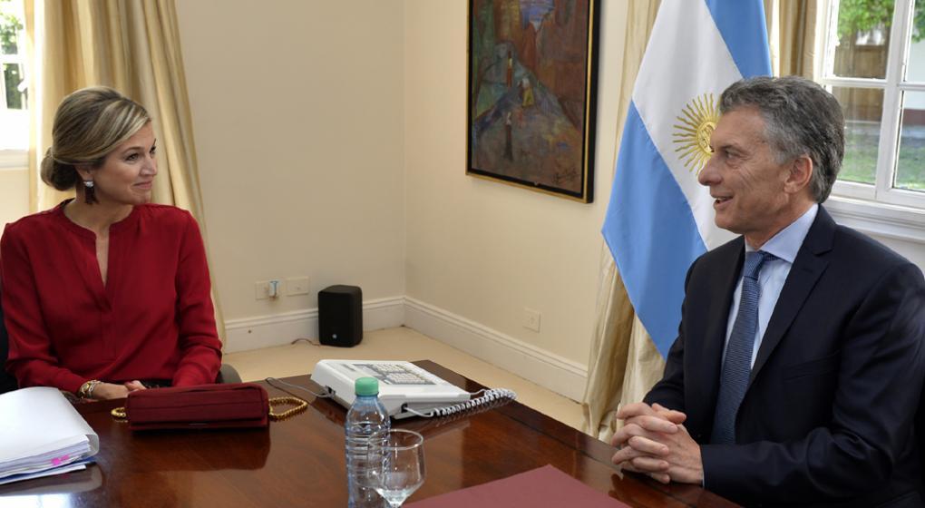 Las reuniones entre Máxima y Macri generaron ruido por el nombramiento de Inés.
