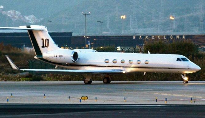 Macri alquiló el avión de Messi para viajar a Nueva York - #BorderPeriodismo