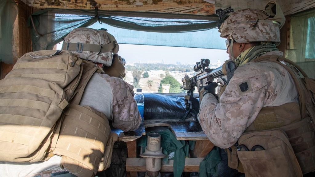 Estados Unidos desplegó 3.500 nuevos soldados en Oriente Medio