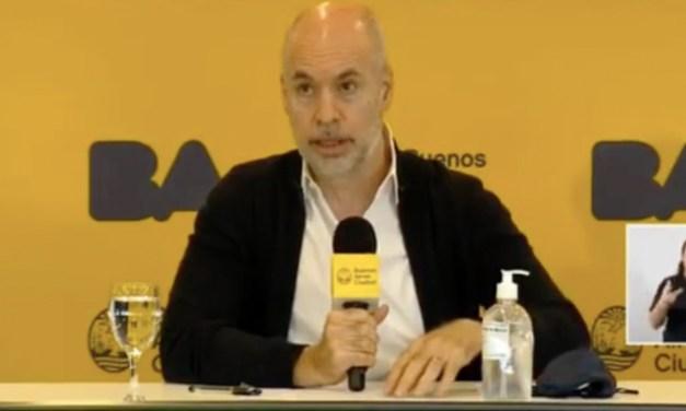 Rodríguez Larreta marcó distancia con el gobierno por la Reforma judicial