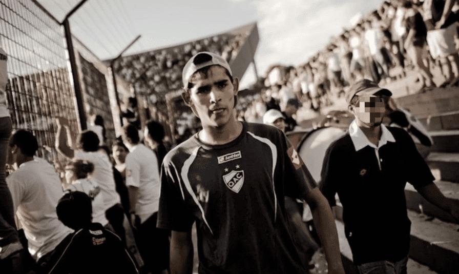 """""""Piolo"""" Moreyra, de 26 años. Este miércoles fue despedido con un largo cortejo fúnebre con barras de Quilmes"""