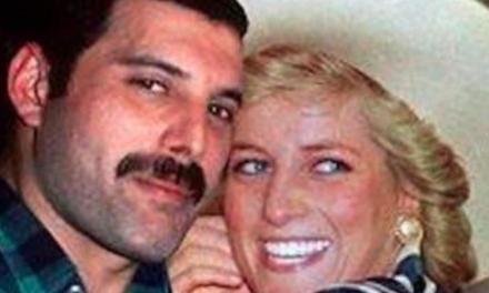 Freddie Mercury y la increíble noche que compartió con Lady Di