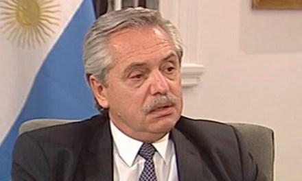 Alberto Fernández dijo que la deuda era una «fuerte limitación»