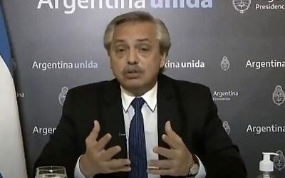 """Alberto Fernández: «Los resultados de la pobreza serían infinitamente más negativos si el Estado no hubiera auxiliado"""""""