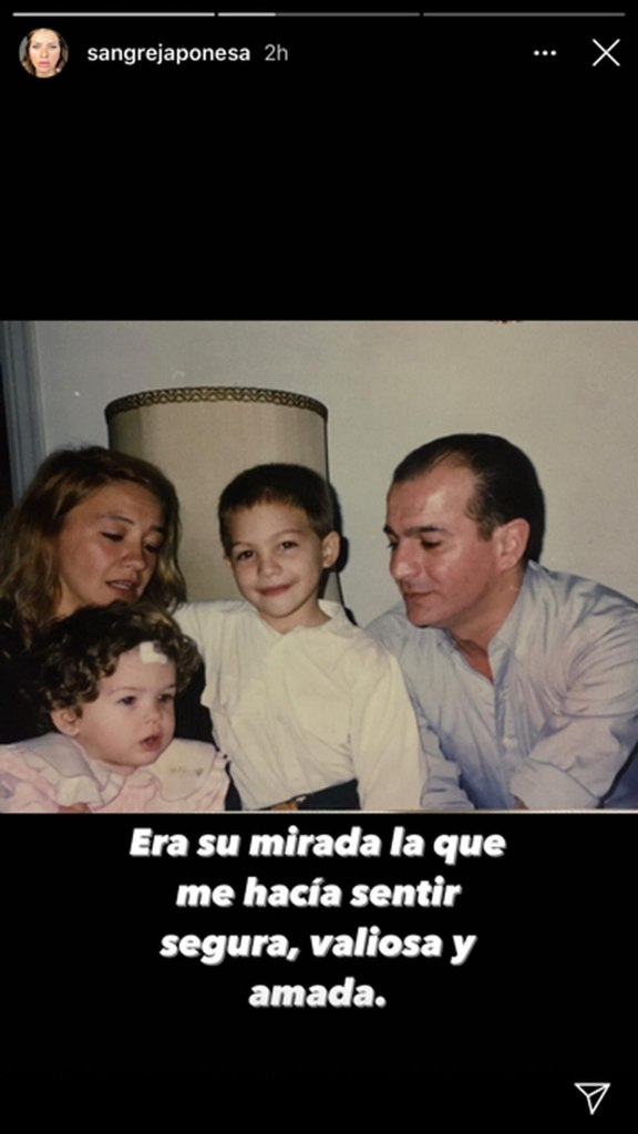 La China Suárez, su papá, su hermano Agustín y su mamá Marcela Riveiro