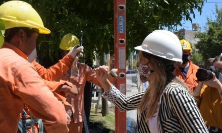 Galmarini y Ferraresi recorrieron dos obras destinadas a más de 20.000 vecinos de Avellaneda