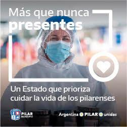Anuncio Municipio Pilar - Dona Plasma. Agosto2020