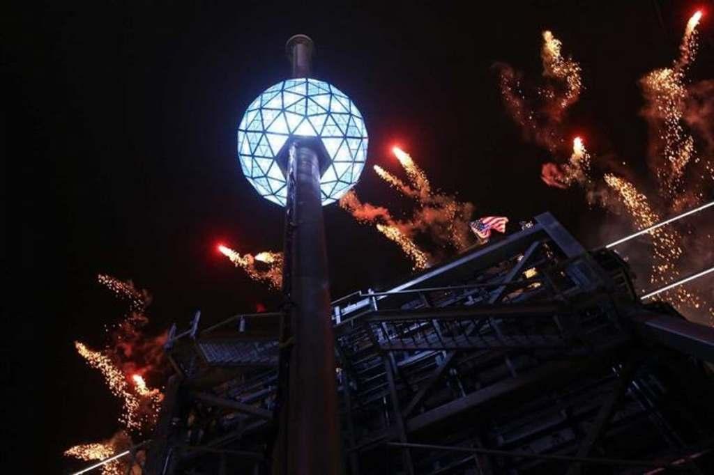 La bola de cristal de Times Square recibirá 2021 sin público por el Covid-19