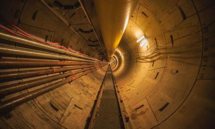 Finalizaron en tiempo récord una obra clave sobre un túnel del Riachuelo