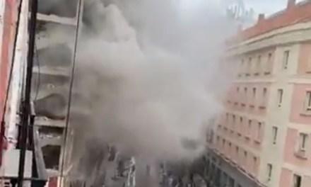 Una explosión de gas en un edificio en el centro de Madrid mató a tres personas