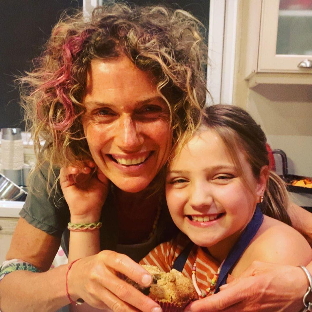 Maru Botana con su hija Inés