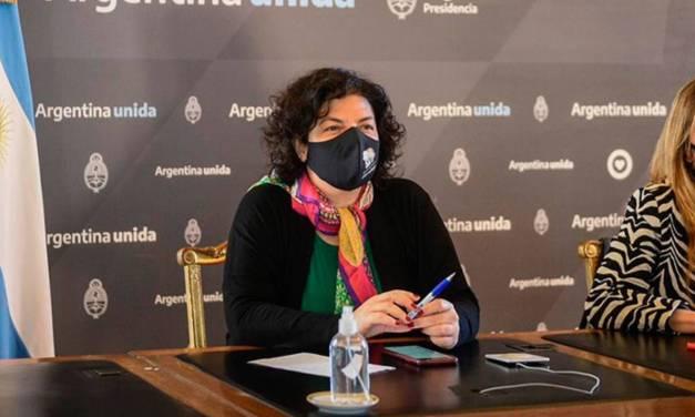 Argentina recibirá casi 5 millones de dosis de AstraZeneca, según Vizzotti