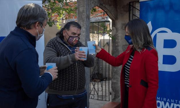 Nueva red de agua potable para 2500 vecinos en Almirante Brown
