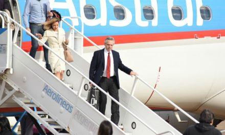 """Alberto Fernández vuelve a """"alquilar"""" un vuelo de Aerolíneas para su gira por Francia"""