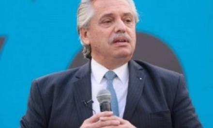 Alberto Fernández: «El último presidente que enfrentó una pandemia fue Sarmiento y después me tocó a mí»