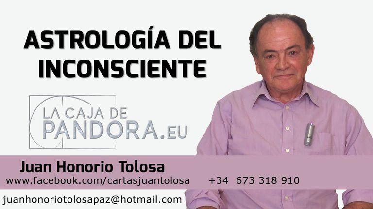 Un aviso de Juan Honorio Tolosa, donde ofrece sus servicios de astrología