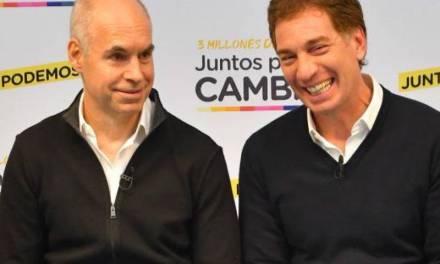El furcio electoral de Horacio Rodríguez Larreta al presentar a Diego Santilli en un acto de campaña